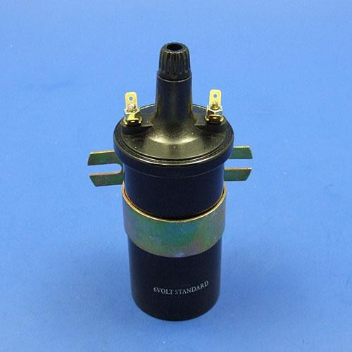 Antique Car Ignition Coil : E w nut ignition coil volt electrical