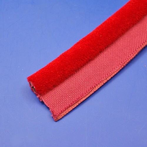 furflex draught excluder - 242 red